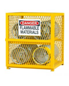"""Durham 4 Cylinder Horizontal 30"""" x 30"""" x 35"""" Gas Cylinder Storage Cabinet"""