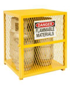"""Durham 4 Cylinder Vertical 30"""" x 30"""" x 35"""" Gas Cylinder Storage Cabinet"""