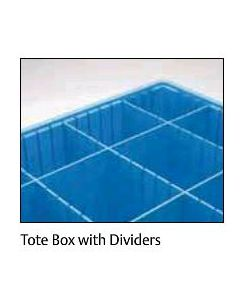 "METRO® Divider Tote Box Short Divider (CAS) 6.5"" L x 5.5"" W"