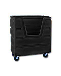 Ted Thorsen 36 Cubic Ft. Bulk Linen Truck - Black