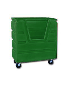 Ted Thorsen 36 Cubic Ft. Bulk Linen Truck - Forest Green