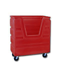 Ted Thorsen 36 Cubic Ft. Bulk Linen Truck - Red