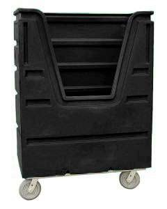 Ted Thorsen 48 Cubic Ft. Bulk Linen Truck - Black