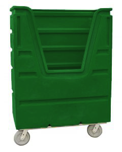 Ted Thorsen 48 Cubic Ft. Bulk Linen Truck - Forest Green