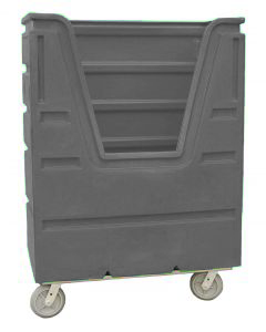Ted Thorsen 48 Cubic Ft. Bulk Linen Truck - Gray