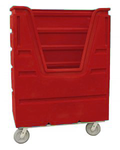 Ted Thorsen 48 Cubic Ft. Bulk Linen Truck - Red