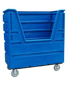 Ted Thorsen 63 Cubic Ft. Bulk Linen Truck - Blue