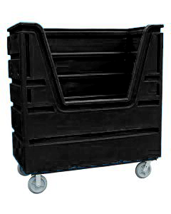 Ted Thorsen 63 Cubic Ft. Bulk Linen Truck - Black
