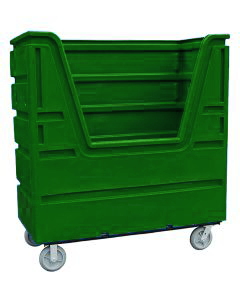Ted Thorsen 63 Cubic Ft. Bulk Linen Truck - Forest Green