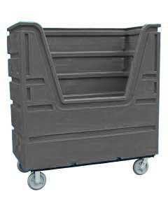 Ted Thorsen 63 Cubic Ft. Bulk Linen Truck - Gray