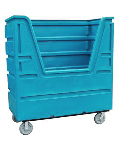 Ted Thorsen 63 Cubic Ft. Bulk Linen Truck - Powder Blue