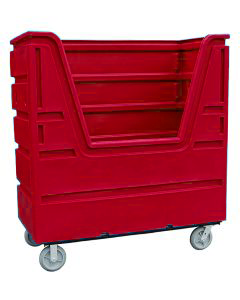 Ted Thorsen 63 Cubic Ft. Bulk Linen Truck - Red