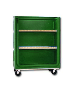 Ted Thorsen 38 Cubic Ft. Bulk Linen Truck - Forest Green