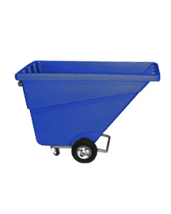 Ted Thorsen 1/2 yd Tilt Truck Blue