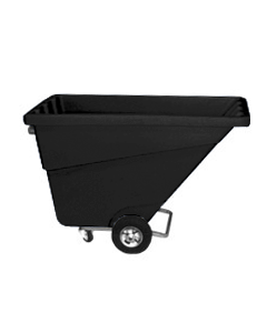 Ted Thorsen 1/2 yd Tilt Truck Black
