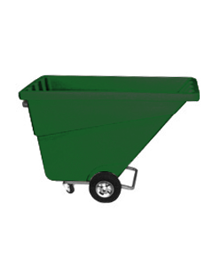 Ted Thorsen 1/2 yd Tilt Truck Forest Green