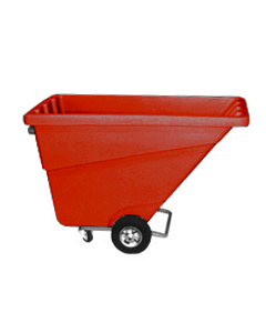 Ted Thorsen 1/2 yd Tilt Truck Red