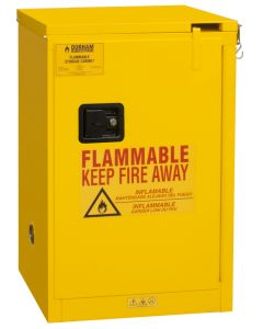 "Durham FM Approved Flammable 23"" x 18"" x 36-3/8"" Self Close Safety Cabinet"