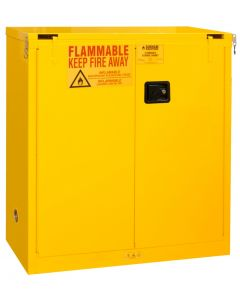 "Durham FM Approved Flammable 43"" x 18"" x 44"" Manual Close Safety Cabinet"