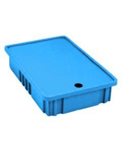 "METRO® Divider Tote Box Insert Cover Blue (BAS) 10.00"" L x 7.25"" W x 0.12"" H"