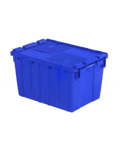 "Orbis 22"" x 15"" x 13"" Attached Lid Container - Blue"
