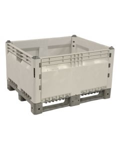 "Decade KitBin® 48"" x 40"" x 28"" Solid Container - Gray"