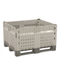 "Decade KitBin® 48"" x 40"" x 28"" Vented Container - Gray"
