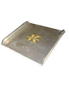 """Koke Inc. 60"""" x 48"""" All Aluminum Dockboard 10,000 lb. Capacity"""