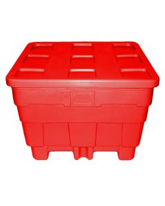 "Meese 50"" x 45"" x 36"" Ship Shape Container Red"