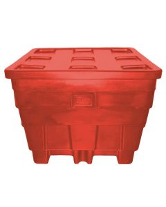"Meese 50"" x 45"" x 39"" Ship Shape Container Red"