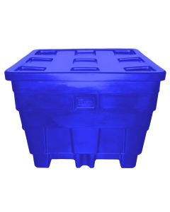 "Meese 50"" x 45"" x 39"" Ship Shape Container Royal Blue"