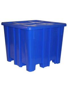 "Meese 44"" x 44""x 45.5"" Ship Shape Bulk Container Royal Blue"