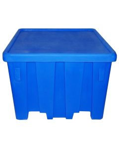 "Meese 44"" x 44"" x 32.5"" Ship Shape Bulk Container Royal Blue"