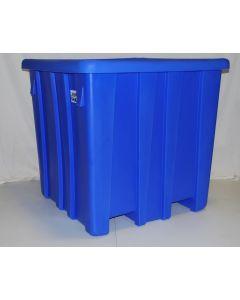 "Meese  44"" x 44"" x 44"" Ship Shape Bulk Container Royal Blue"