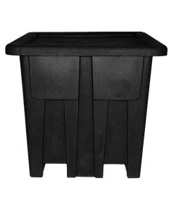 "Meese 48"" x 48"" x 46"" Ship Shape Container Black"