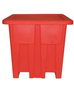 "Meese 48"" x 48"" x 46"" Ship Shape Container Red"