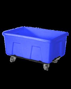 """Myton 38"""" x 25.5"""" x 19"""" Smooth Wall Utility Truck Heavy Duty Blue"""