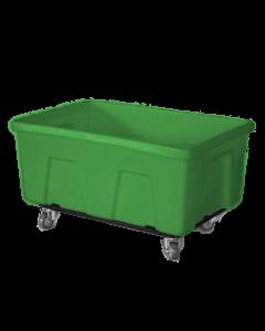 """Myton 38"""" x 25.5"""" x 19"""" Smooth Wall Utility Truck Medium Duty Green"""