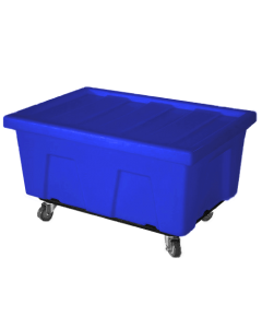 "Myton 38"" x 25.5"" x 3"" Lid for MTA Series Truck Blue"