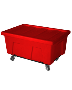 "Myton 38"" x 25.5"" x 3"" Lid for MTA Series Truck Red"