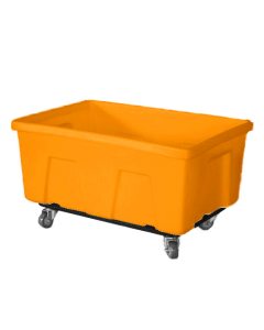 """Myton 38"""" x 25.5"""" x 19"""" Smooth Wall Utility Truck Heavy Duty Orange"""