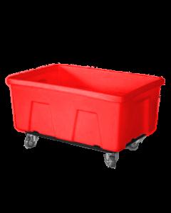 """Myton 38"""" x 25.5"""" x 19"""" Smooth Wall Utility Truck Medium Duty Red"""