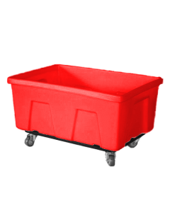 "Myton 38"" x 25.5"" x 19"" Smooth Wall Utility Truck Heavy Duty Red"