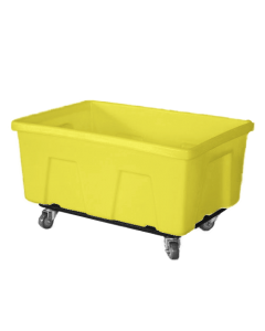"Myton 38"" x 25.5"" x 19"" Smooth Wall Utility Truck Heavy Duty Yellow"