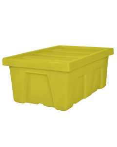 "Myton 38.5"" x 26"" x 16"" Smooth Wall Container Medium Duty Yellow"