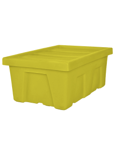 "Myton 38.5"" x 26"" x 16"" Smooth Wall Container Heavy Duty Yellow"