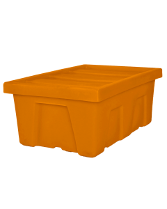 "Myton 38.5"" x 26"" x 16"" Smooth Wall Container Heavy Duty Orange"