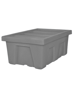 "Myton 38.5"" x 26"" x 16"" Smooth Wall Container Medium Duty Gray"
