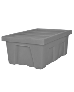 "Myton 38.5"" x 26"" x 16"" Smooth Wall Container Heavy Duty Gray"
