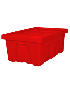 "Myton 38.5"" x 26"" x 16"" Smooth Wall Container Heavy Duty Red"
